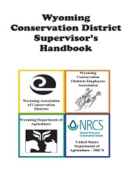 WY Conservation District Supervisor's Handbook