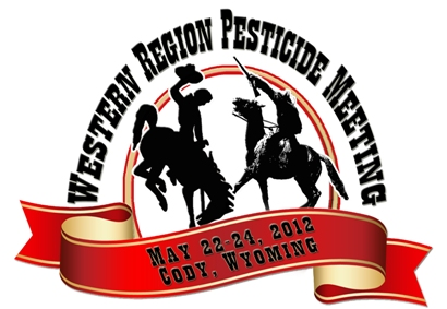 Western Region Pesticide Meeting in Cody, Wyoming Logo